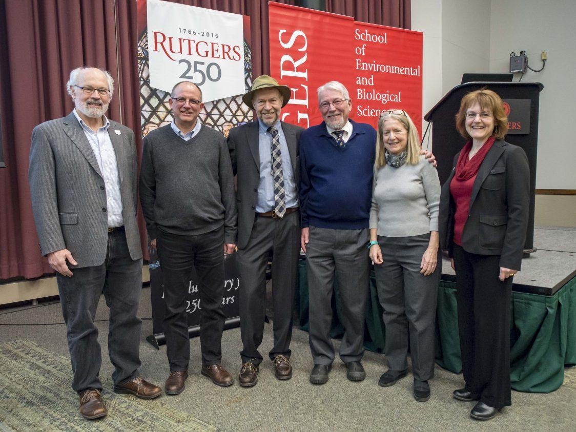 Dr. James Hansen Visits Rutgers University