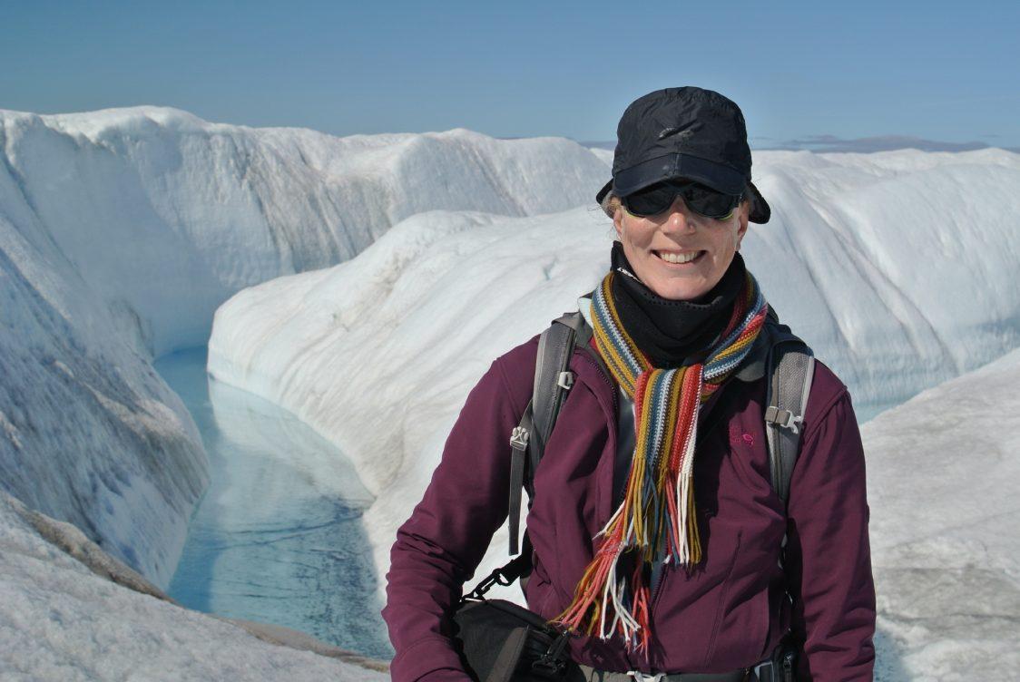 Asa Rennermalm in Greenland