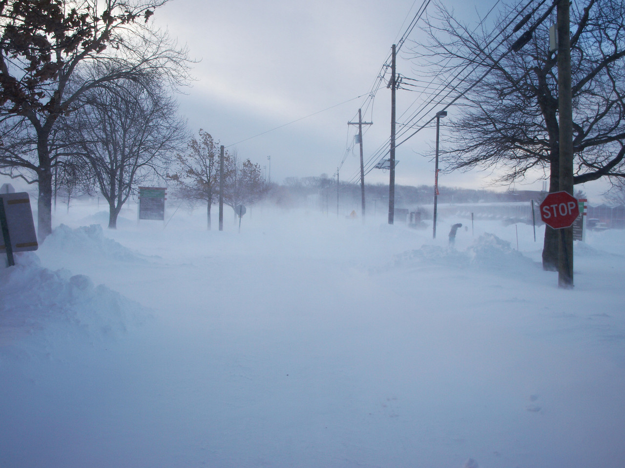 """In the Boxing Day Blizzard of 2010 over 30"""" of snow fell in some areas of Central and Northern New Jersey. Photo: Matt Drews"""