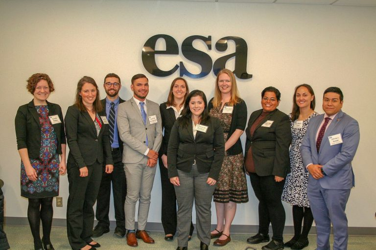 C2R2 Graduate Student Johnny Quispe Selected by ESA as a Katherine S. McCarter Graduate Student Policy Award Recipient