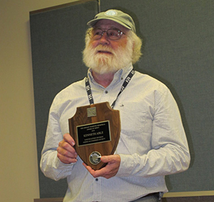 Kenneth Able Named Recipient of the Dwight A. Webster Memorial Award