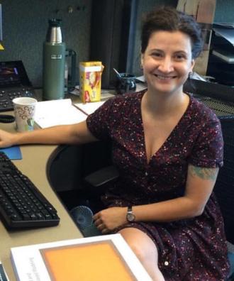 Meet EOAS' New Faculty Member Victoria Ramenzoni
