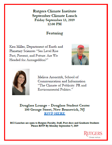 RCI Climate Lunch flyer