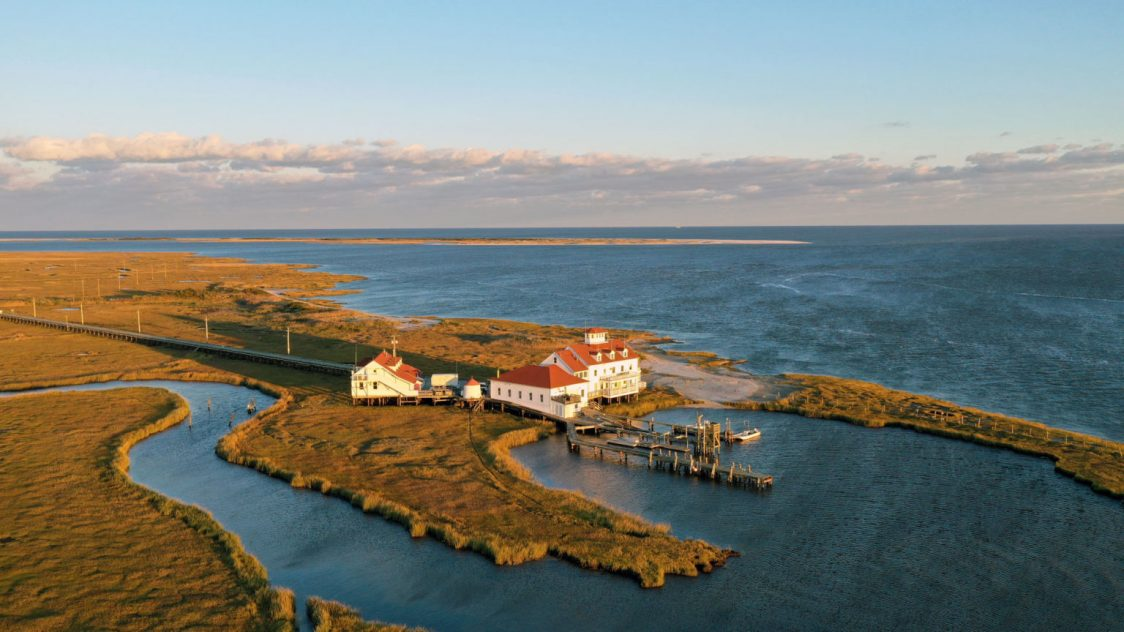 #EOAS in the News: Coastal Scientists Prepare to Retreat from Field Station Threatened by Rising Seas