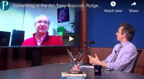#EOAS in the News: Something in the Air with Tony Broccoli, Rutgers Meteorology Professor