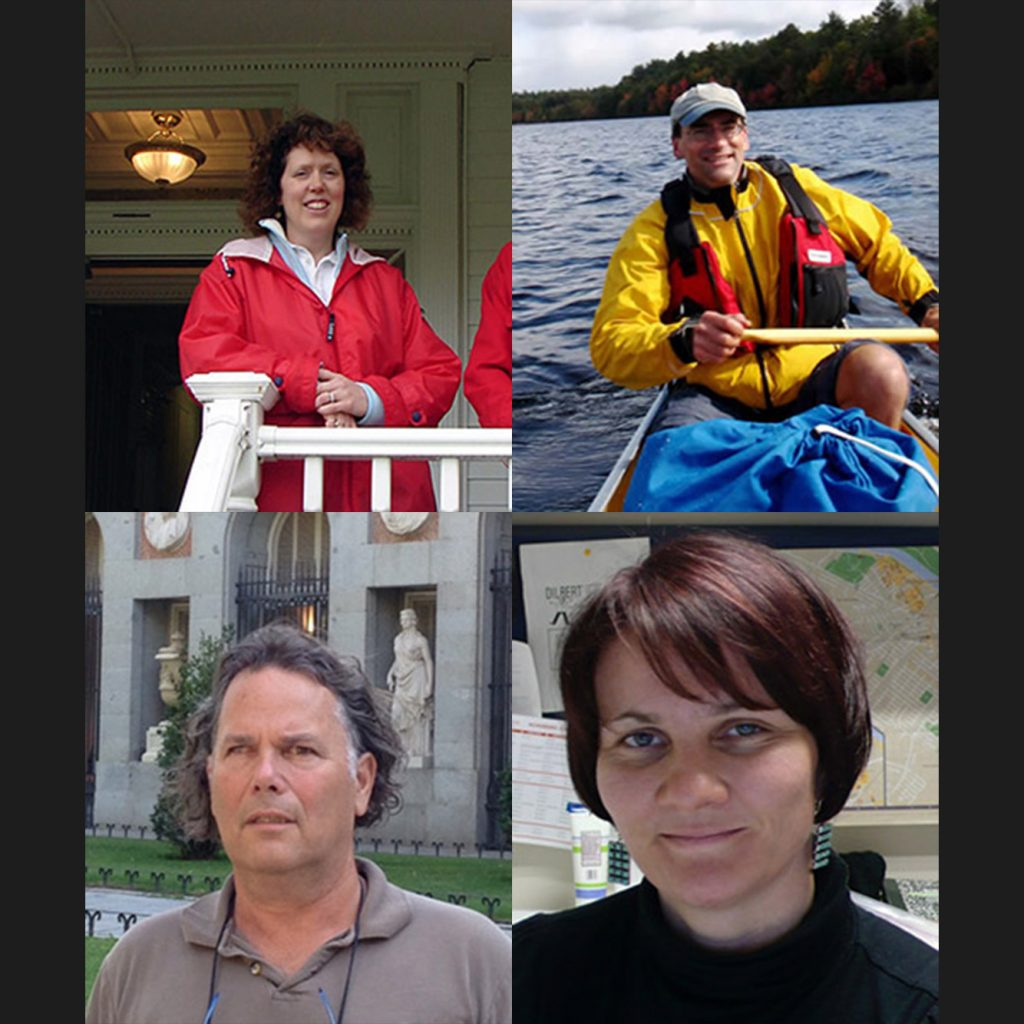 """The Rutgers School of Environmental and Biological Science honors Richard Lathrop, Janice McDonnell, Yair Rosenthal, and Silke Severmann for their """"dedication and impactful work."""""""