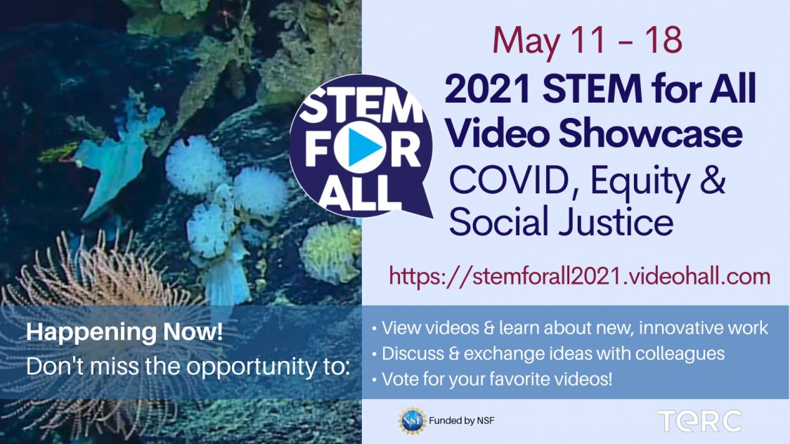 Rutgers University to Participate in The 2021 STEM for All Video Showcase: COVID, Equity & Social Justice