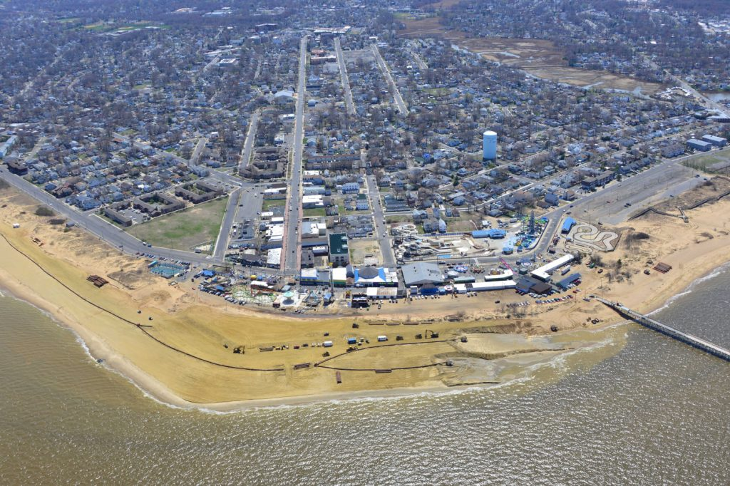 """Keansburg, located where the Raritan Bay meets the Atlantic, was one of the New Jersey communities that benefitted from the expertise of students taking part in the Coastal Climate Risk and Resilience program at Rutgers. """"They brought a lot of things to my eyes,"""" says alumnus Ed Striedl, who is Keansburg's lead construction code official, flood plain manager, and zoning officer. """"It was a different way of thinking about certain issues."""" Photography by Lisa Auermuller"""