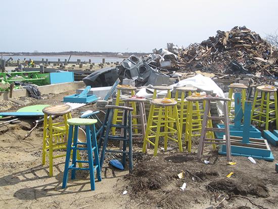 Union Beach after Hurricane Sandy